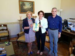 Incontro con S.E.Il Prefetto Dr.ssa Maria Grazia Forte